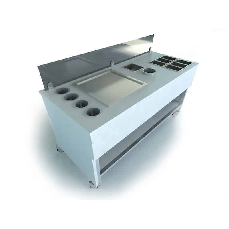 Ice Cream Cart for Ice Pan • Ice Roll Pro • Ice Roll Machine